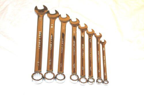 Craftsman 12 pt Full Polish Combination Long Wrench Choose Size Standard Metric