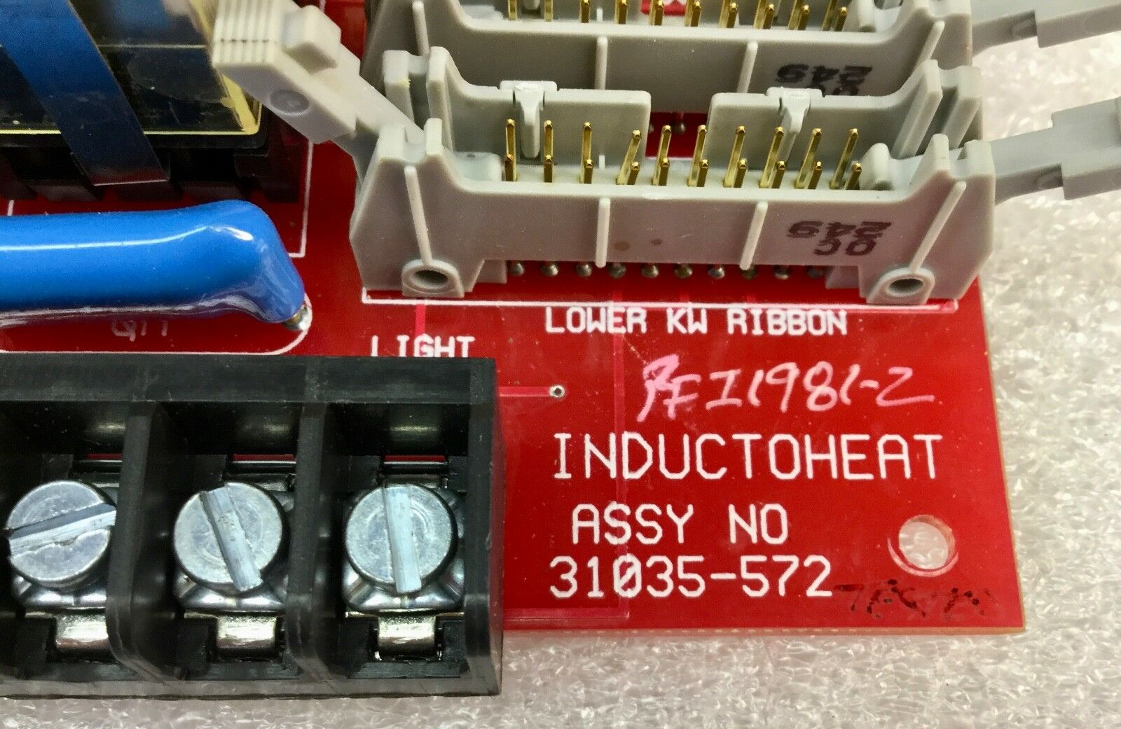 INDUCTOHEAT CONTROL BOARD 31035-572 *PZF*
