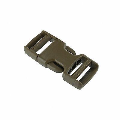 "35I-GTSR100-DLL - Two  (2) Double Adjust Plastic ITW Nexus Buckle- 1"" strap"