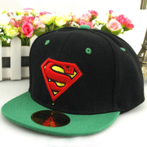 Kids Boys Superhero Baseball Cap Children Hip Hop Trucker Snapback Sport Hats