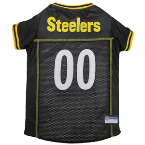 Pittsburgh-Steelers-NFL-Pets-First-Licensed-Dog-Embroidered-Pet-Jersey-XS-L