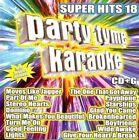 Various Artists Party Tyme Karaoke Super Hits 18 CD