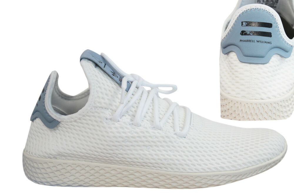 Adidas Originals Pharrell Williams Tennis Hu baskets homme à lacets BY8718 M17-
