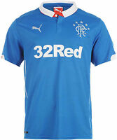 Glasgow Rangers Home Football Shirt 2014-15 Size M