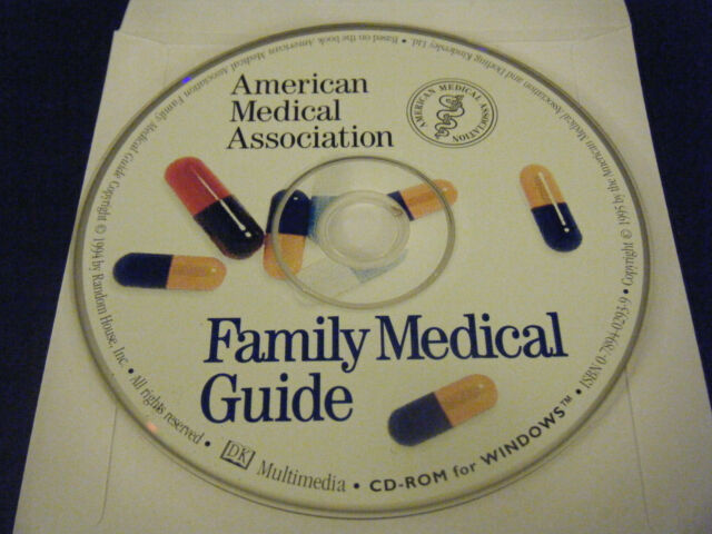 American Medical Association Family Medical Guide (PC, 1995) - Disc Only