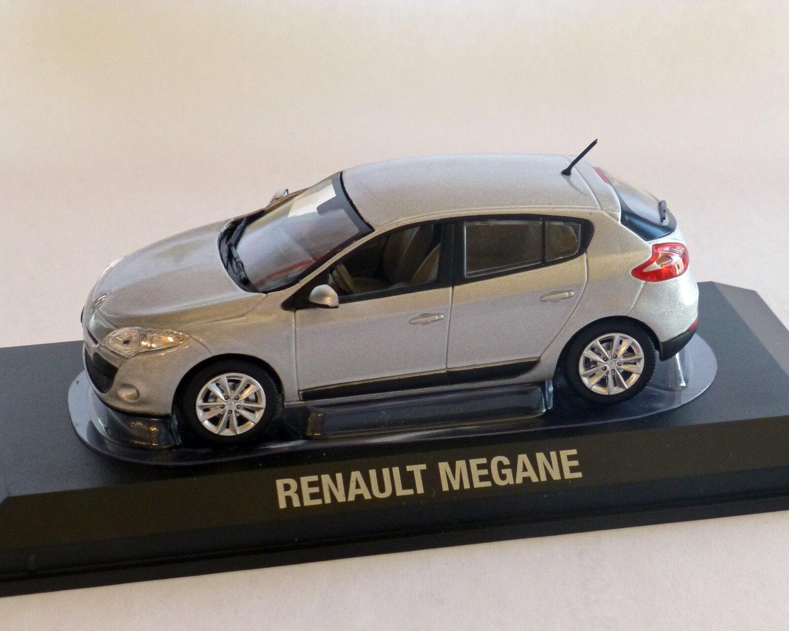 Renault megane Beline 2009 Argent-met, NOREV, 1 43