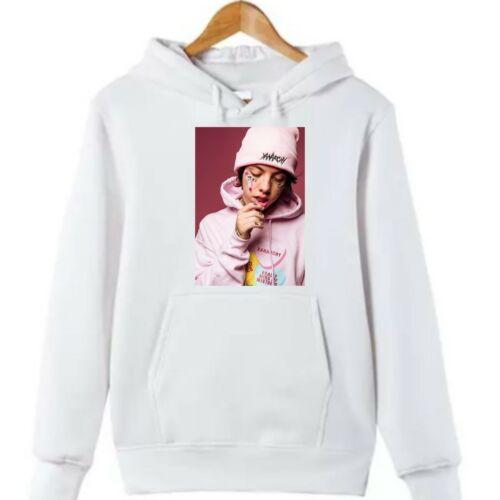 Lil Xan rappeur américain youtuber Musique Anniversaire jeunesse enfant Teen Hommes Femmes Sweat à capuche