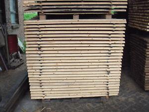 Zaunlatten Halbrund Roh Unbehandelt 6cm X 150cm Ebay