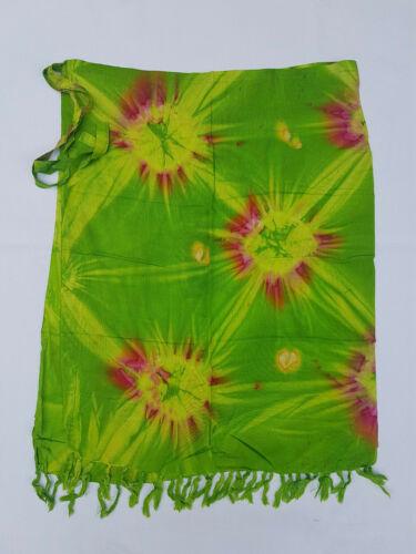 SM 018//jupe portefeuille wickeltuch Medium polynésien Lungi Sarong