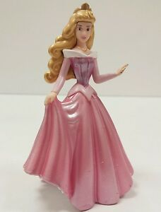 "Disney Princess Sleeping Beauty Pink Ball Gown 3.75"" PVC ..."