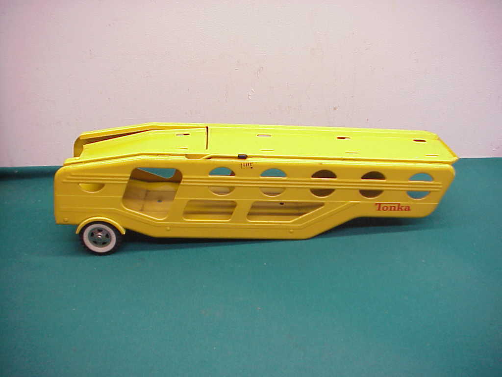 Tonka vintage yellow car carrier only