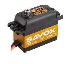 Savox HIGH TORQUE DIGITAL STEEL GEAR SERVO .11/347 @7.4V SC1268SG SAVSC1268SG