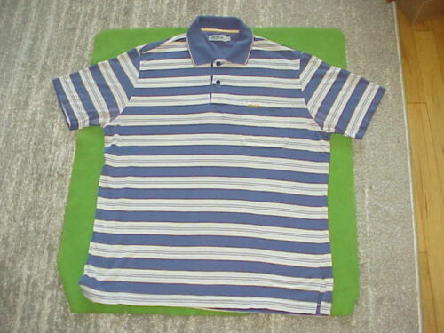 VTG 80/90s STRIPED POCKET POLO SHIRT By Pat Primo