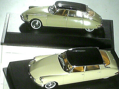 HO3A DUO voitures 1//87 HO universal Hobbies CITROËN DS 19 1956 police 1958