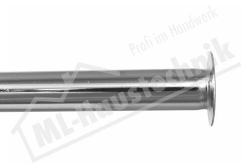 """Schell 497080699 Kupferrohr 10x300mm verchromt mit Bördel 1//2/"""" Zoll"""