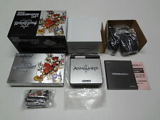 Game Boy Advance SP System Kingdom Hearts Deep Silver Model Nintendo Japan VGOOD