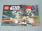 Notice Building instruction booklet LEGO STAR WARS set 7655 Clone Troopers