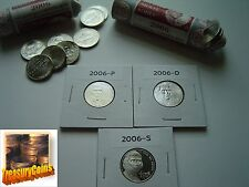 2006 P D S Jefferson Nickels QUALITY(UNCIRCULATED +PROOF) Hand-Selected For Sets