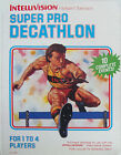 Super Pro Decathlon (Intellivision, 1988)