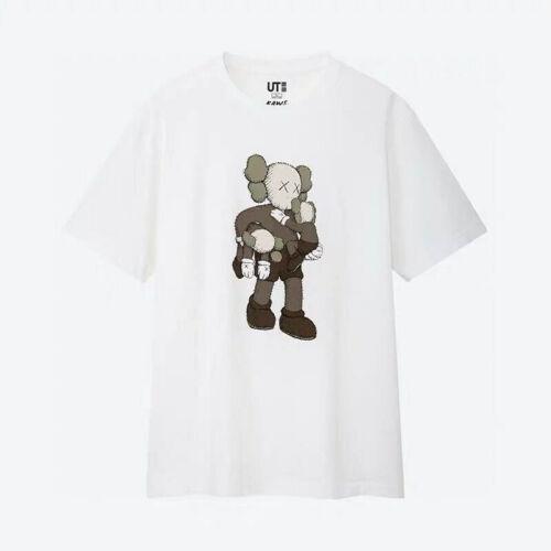 Kaws Uniqlo Summer 2019 Companion Medium Graphic Short Sleeve T-Shirt Size Shirt