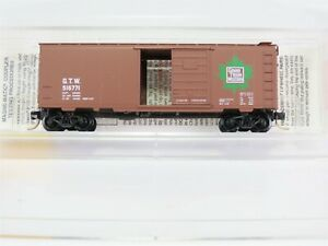 N-Scale-MTL-Micro-Trains-20010-GTW-Grand-Trunk-Western-40-039-Box-Car-516771-RTR