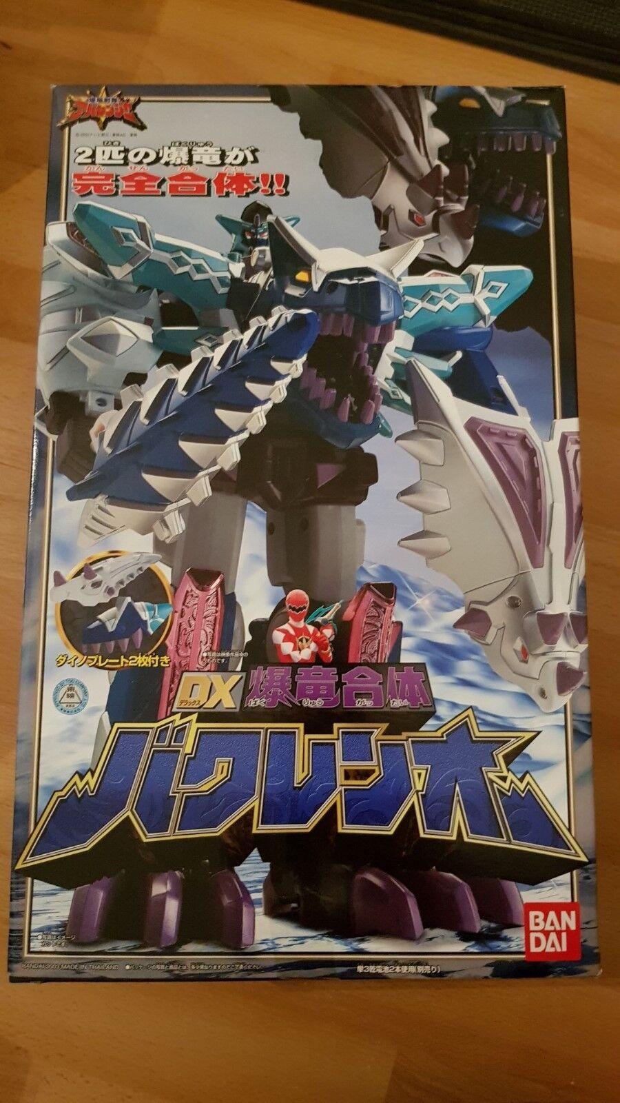 Super Sentai Abaranger DX BakurenOh Power Rangers Dino Thunder Blizzard Megazord