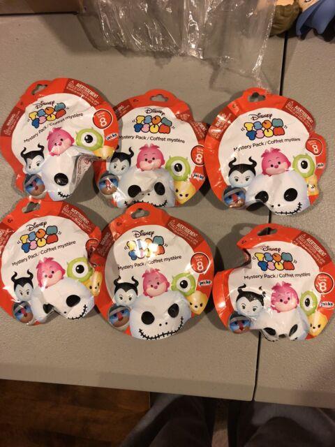 Disney Tsum Tsum Series 8 Mystery Packs Blind Bags Lot Of 6 New Sealed