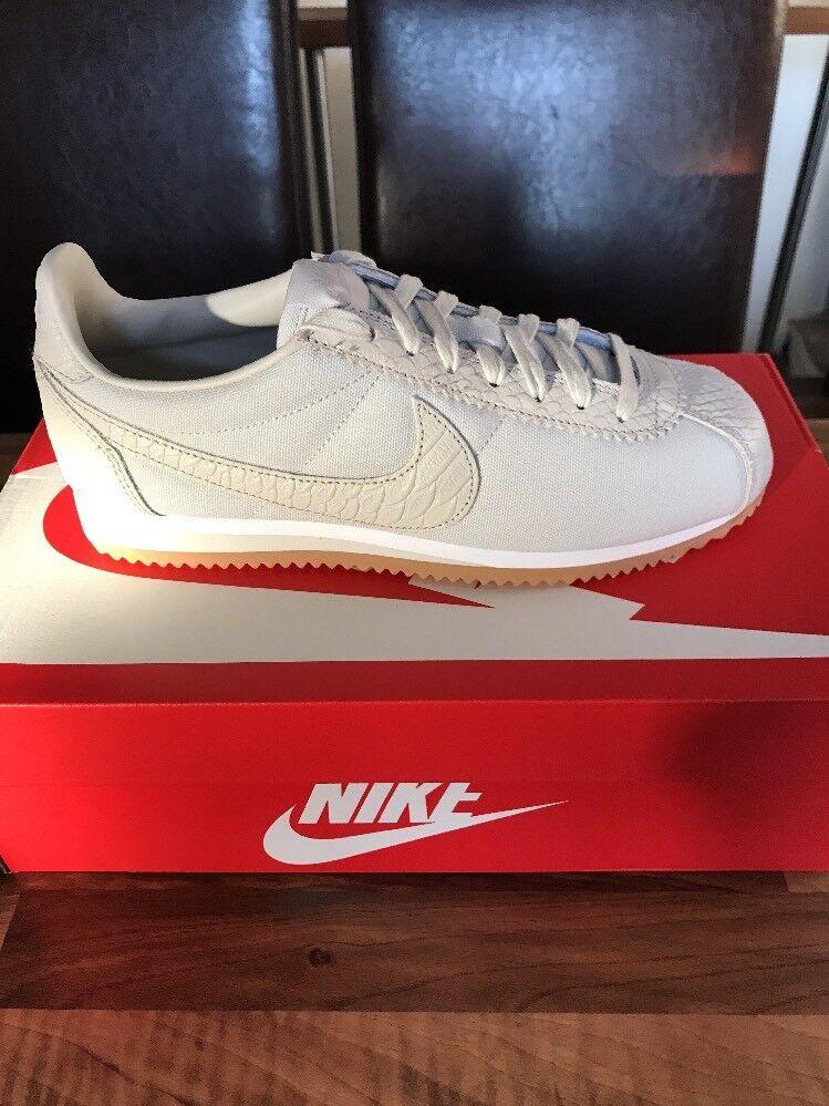 BNIB Nike Classic Cortez SE - Light Bone/Weiß - - - UK Größe 7 / EU 41 5aacfa