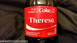 SHARE A COKE WITH BRENDAN COCA COLA EXCLUSIVE CANADIAN ONLY NAME