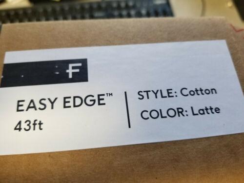 """Floorigami Easy Edge 43/"""" Carpet Tile Edge Finishing for DIY Carpets Rugs Latte"""
