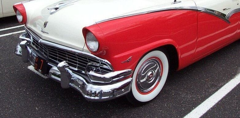1956 Ford Sport bil Sällsynt årgång Continental Concept 1 Karusell Röd 12 Metal 18