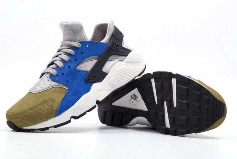 Nike air huarache corsa ridotta sz: wmns 7 (683818 007) al minuto