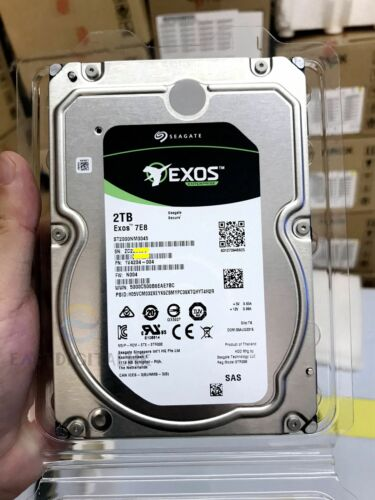 "ST2000NM0045 Seagate Enterprise 2TB 7.2K 3.5/"" 12Gbps SAS 1V4204 Hard Drive NEW"