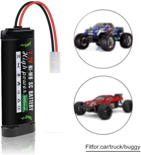 7,2V 5000mAh nimh Akku Batterie mit Tamiya Stecker für RC Auto LKW Boot Drohne