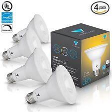 Triangle Bulbs (Pack Of 4) 12-Watt (75-Watt) PAR30 LED Flood Light Bulb Dimma...