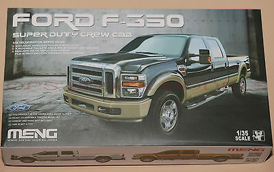MENG MODEL 1/35 FORD F-350 SUPER DUTY CREW CAB