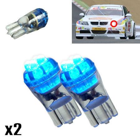 BMW 5 SÉRIE E34 520i 24 V 501 W5W 4-DEL Xenon Bleu Side Lights mise à niveau AMPOULES XE3
