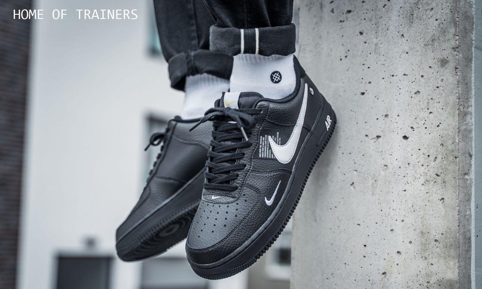 Nike Air Force 1 '07 LV8 Utilità Bianco Nero Nero Nero Nero da Uomo | diversità imballaggio  4ad0cc
