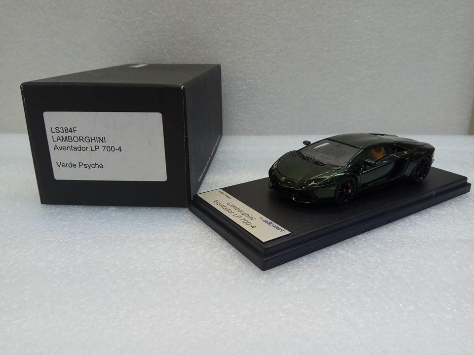Lamborghini aventador lp 700-4 Grün psyche looksmart modell 1   43   ls384f