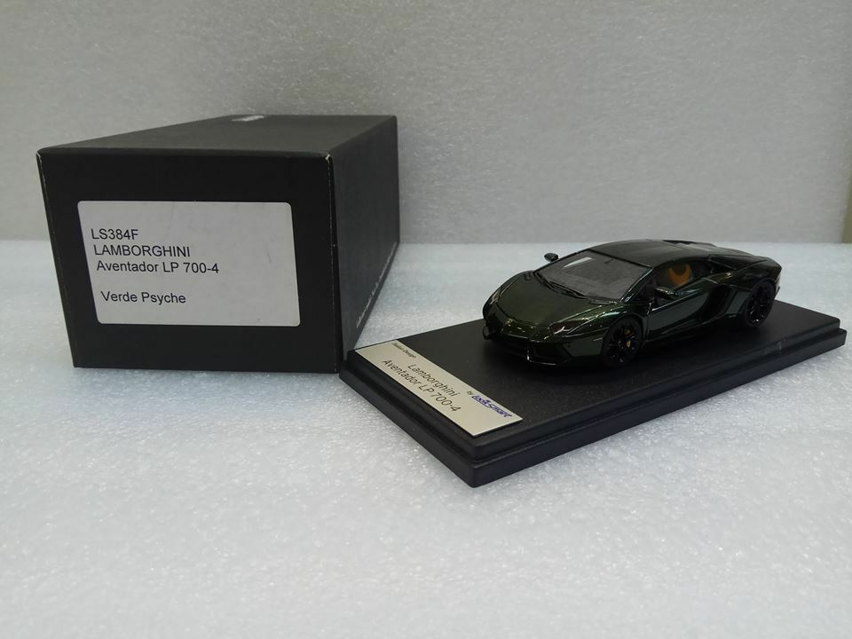 Lamborghini Aventador LP 700-4 vert PSYCHE Looksmart Modèle 1 43  LS384F