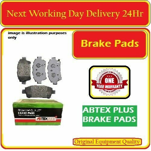 BMW E46 FRONT BRAKE PAD SET WITH STEEL ANTI SQUEAL SHIMS 2000-2007