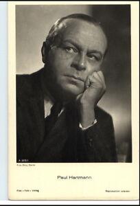 1950-60-Portraet-AK-Film-Buehne-Theater-Schauspieler-PAUL-HARTMANN-Foto-Verlag