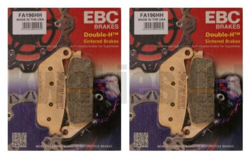 Triumph Legend TT 1998-2001 Set of Sintered EBC HH Front and Rear Brake Pads