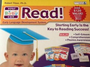 """Your Baby Can Read """"3- level Kit"""" (limited sale price)"""