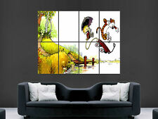 CALVIN AND HOBBES KIDS POSTER COMIC FUNNY BOOK ART PICTURE PRINT LARGE  HUGE
