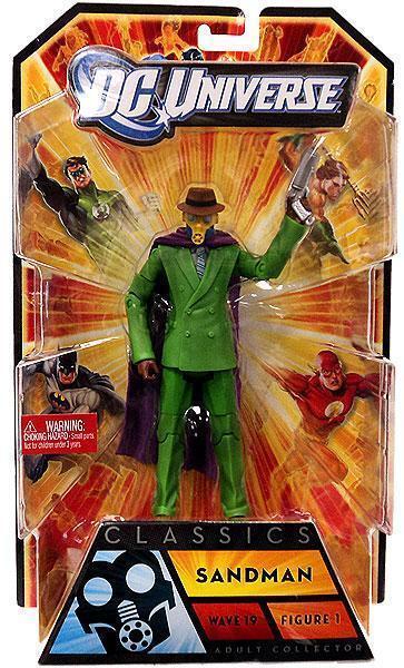 SANDMAN DC Universe Classics 19 jsa society mattel batman legends joker kenner
