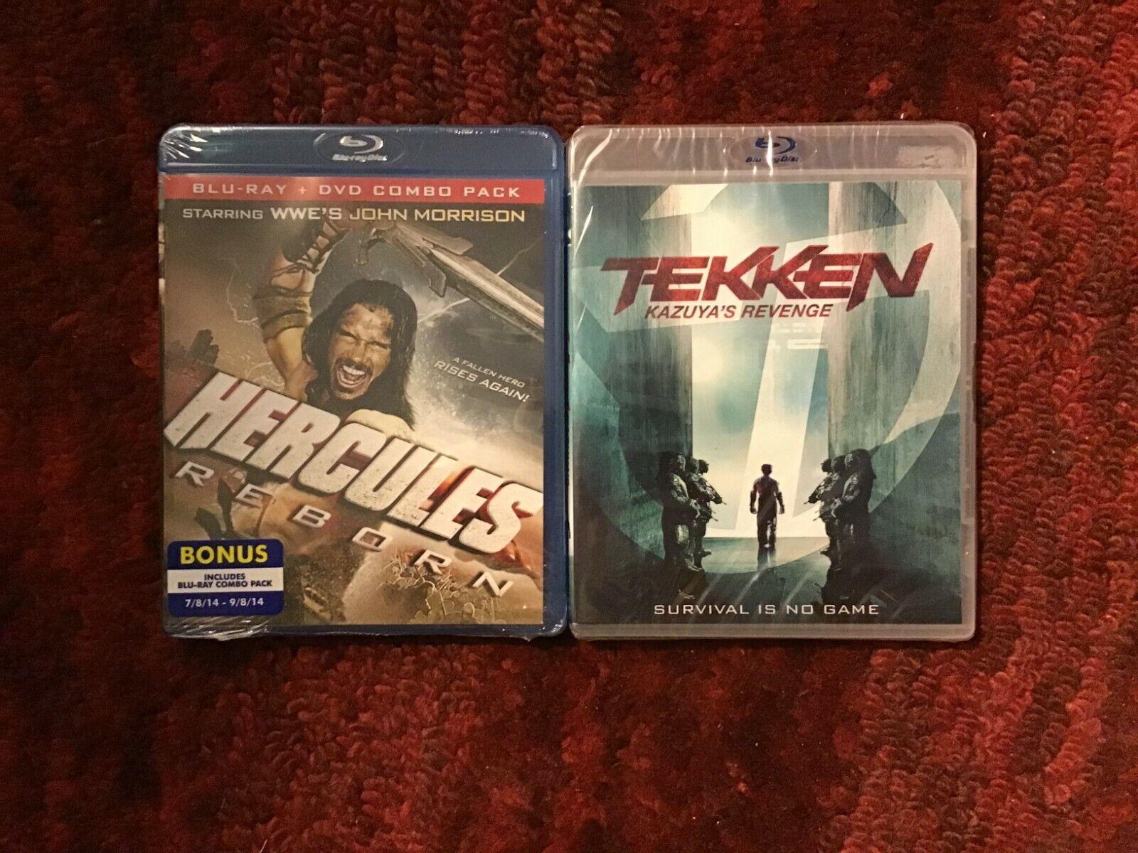 Hercules Reborn With John Morrison Tekken Kazuya S Revenge Two New Blu Ray Ebay