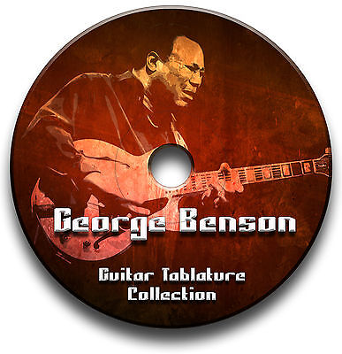George Benson Jazz Gitarre Tab Tablature Lied BUCH Software CD