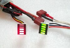 ETINY 7.4/11.1V Li-po voltage detector Red Airsoft Battery Batteria Lipo