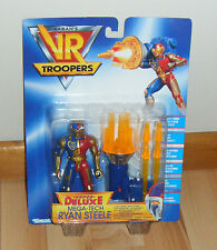 Saban's VR Troopers *SUPER DELUXE - MEGA TECH RYAN STEELE* MOC Kenner (1994)